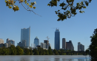 Lady Bird Lake - Austin, Texas